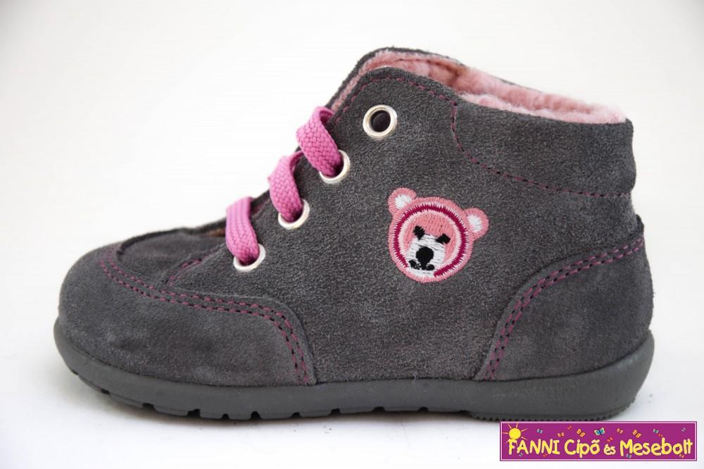 Richter lány első lépés bélelt gyerekcipő 18-22 ash - Fanni cipő és ... 7eb8ab5532