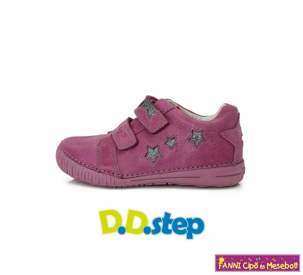 D.D.step lány gyerekcipő 25-30 VIOLET-csillagos - Fanni cipő és mesebolt 65bd4f9403