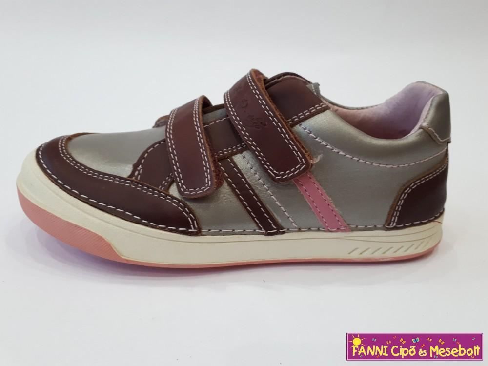 D.D. step lány gyerekcipő 31-36 bronz bordó L - Fanni cipő és mesebolt 51349f42f8