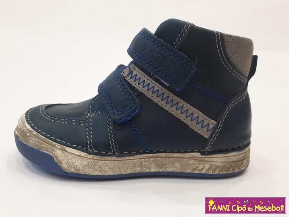 34e5075f6d D.D. step fiú gyerekcipő 25-30 kék-szürke - Fanni cipő és mesebolt