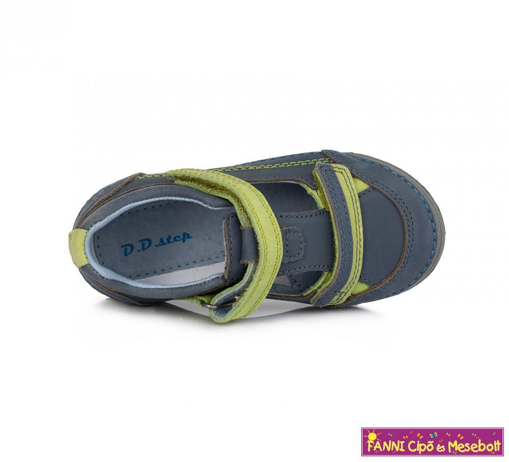 b2feed50b0be D.D.step fiú szandálcipő 25-30 kék-zöld - Fanni cipő és mesebolt