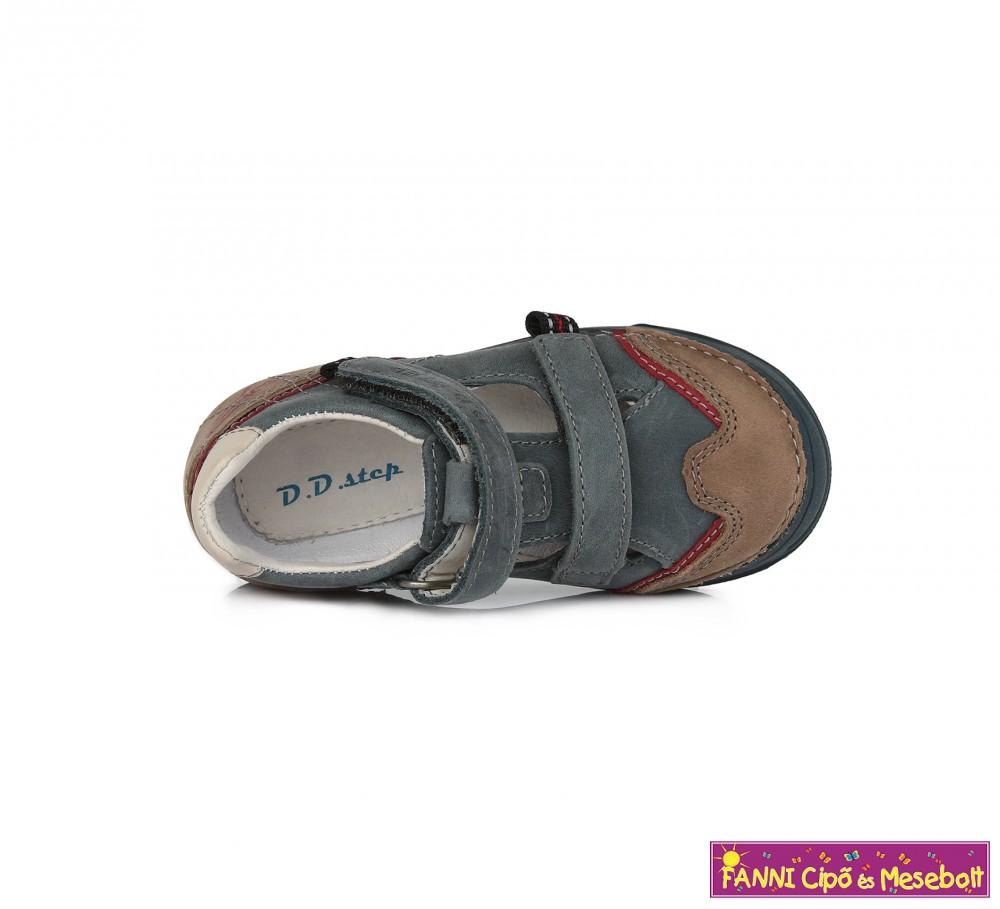 4a5d1bb8e097 D.D. step fiú szandálcipő 25-30 kék-barna - Fanni cipő és mesebolt