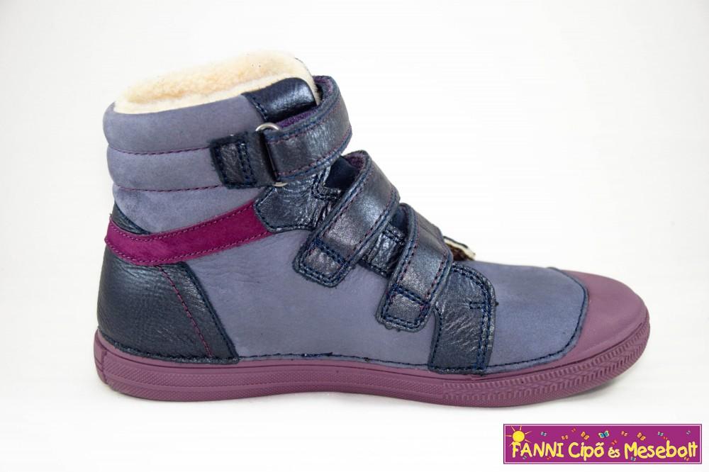 D.D.step lány vízlepergető téli bélelt gyerekcipő 31-36 lila - Fanni ... d56de76a5c