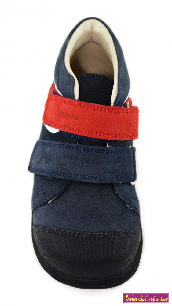 Szamos fiú szupinált gyerekcipő 25-30 kék piros fehér eb374f0137