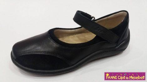 Szamos lány balerínacipő 31-40 fekete