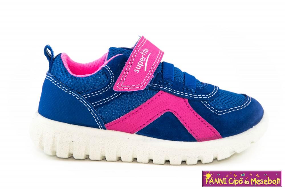 14cba7c06f Superfit lány gyerekcipő 20-35 SPORT7 MINI kék-lila - Fanni cipő és ...