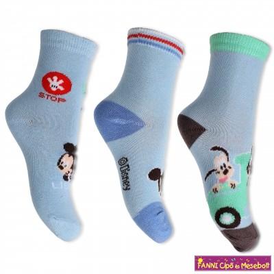 Disney Mickey babazokni szett( 3 pár/szett)