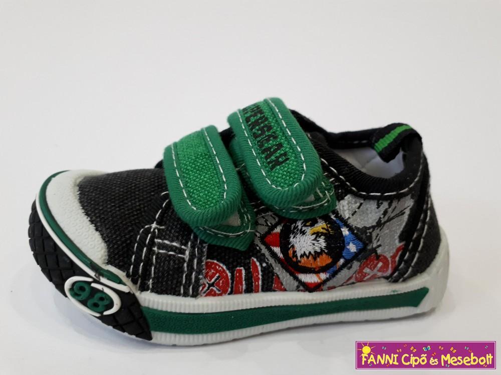 Super Gear fiú vászoncipő 20-25 fekete - Fanni cipő és mesebolt 1c1d524d87
