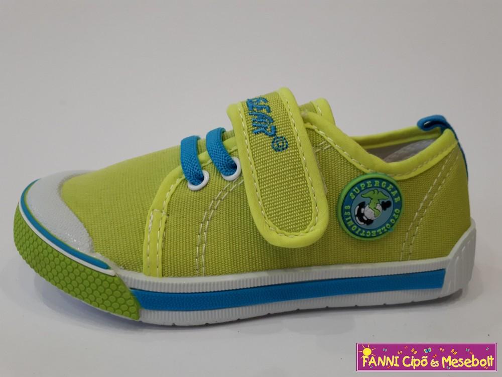 Super Gear fiú vászoncipő 26-31 zöld - Fanni cipő és mesebolt 9ceaedc4c5
