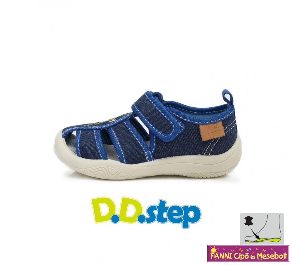 D.D. step fiú nyitott vászoncipő 20-25 sötétkék - Fanni cipő és mesebolt f446338851