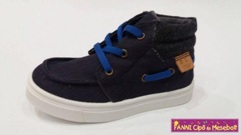 D.D.step fiú magasszárú vászoncipő  26-31 Royal blue
