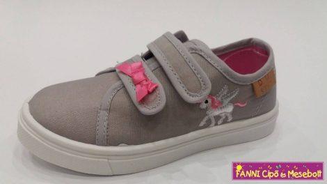 D.D.step lány vászoncipő 26-31 Grey