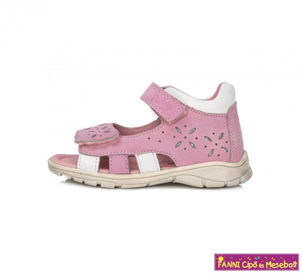 af66594922 Ponte20 lány szupinált szandál 28-33 rózsaszín-fehér - Fanni cipő és ...