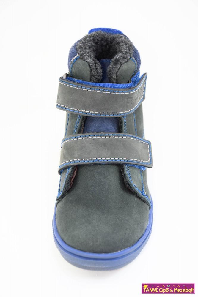 5bd14a4210c9 Ponte20 fiú szupinált téli bélelt gyerekcipő 28-33 szürke-kék ...