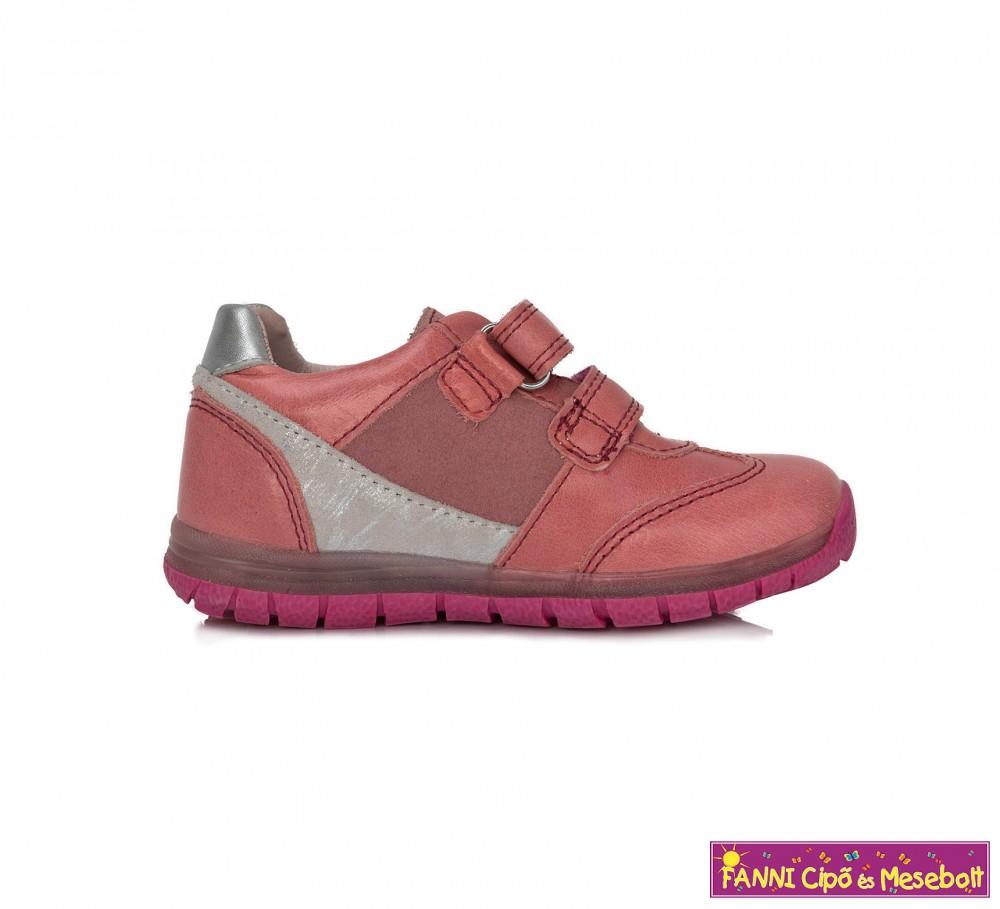 999fc34927 Ponte20 lány szupinált gyerekcipő 28-33 rózsaszín-ezüst - Fanni cipő ...