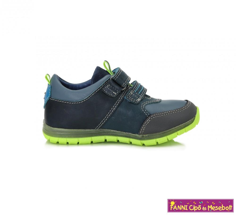 7e80086c3e Ponte20 fiú szupinált gyerekcipő 28-33 kék-zöld - Fanni cipő és mesebolt