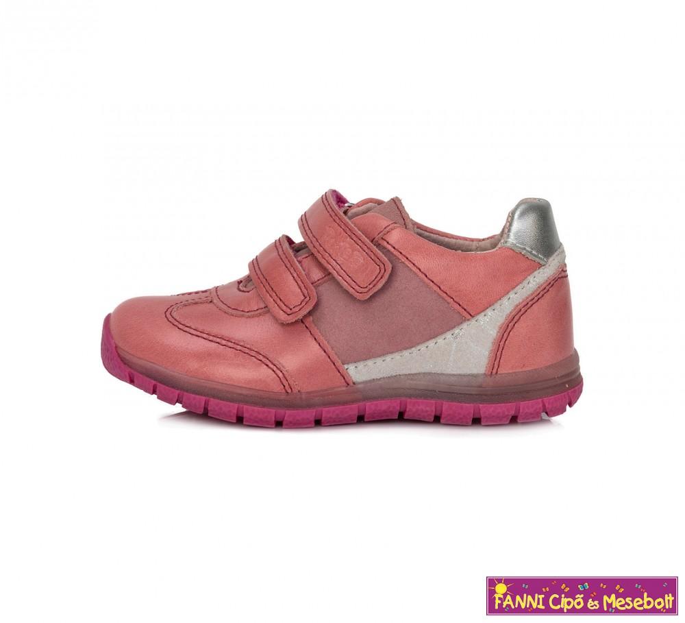 79db087368 Ponte20 lány szupinált gyerekcipő 22-27 rózsaszín-ezüst - Fanni cipő ...