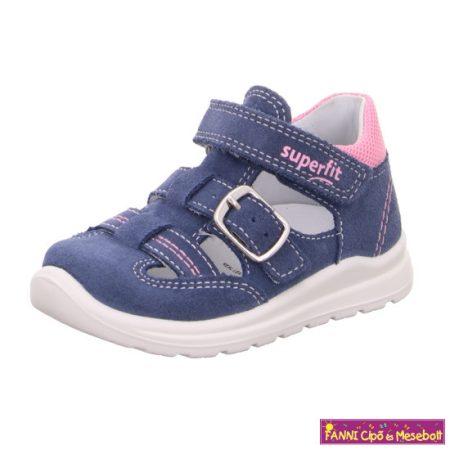 Superfit lány szandálcipő 22-27 MEL kék rózsaszín