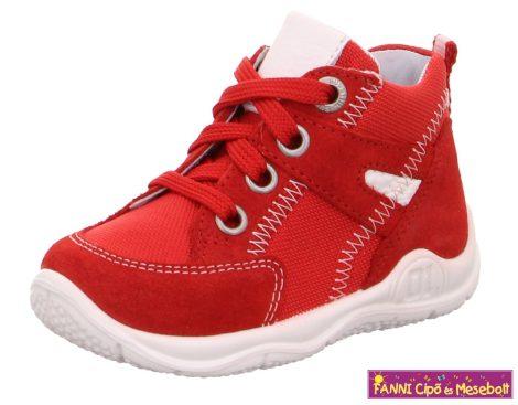 Superfit lány gyerekcipő 21-26 UNIVERSE piros-fehér