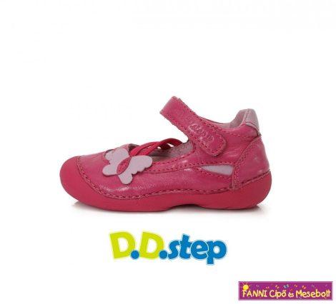 D.D. step lány szandálcipő/balerinacipő 19-24 Dark Pink