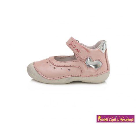 D.D. step lány szandálcipő/balerinacipő rózsaszín