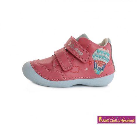 D.D. step lány gyerekcipő 19-24 kék-pink léggömbös