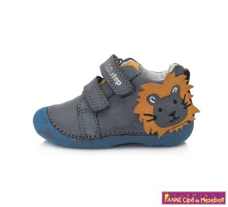 D.D. step fiú gyerekcipő 19-24 szürke-oroszlános
