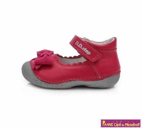 D.D. step lány szandálcipő/balerinacipő 19-24 s.pink masnis