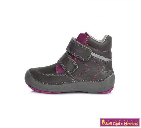 """D.D.step lány """"Barefoot"""" gyerekcipő 31-36 szürke-rózsaszín"""