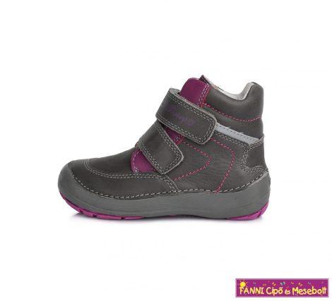 """D.D.step lány """"Barefoot"""" gyerekcipő 25-30 szürke-rózsaszín"""