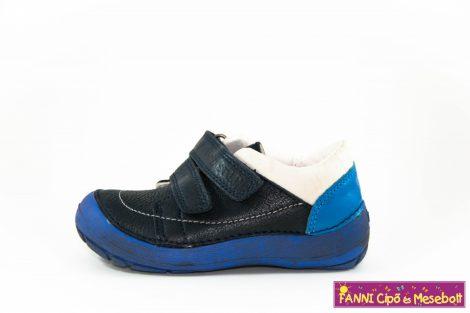 """D.D.step fiú """"Barefoot"""" gyerekcipő 25-30 kék-fehér"""