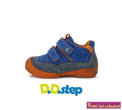 D.D. step fiú gyerekcipő 19-24 kék-narancs  19-ES UTOLSÓ PÁR