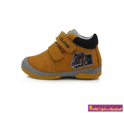 D.D. step fiú gyerekcipő 19-24 sárga-kamionos