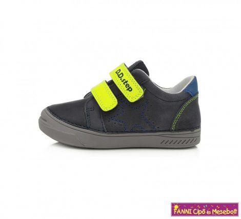 D.D. step fiú gyerekcipő 25-30 s.kék-neon