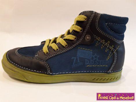 D.D. step fiú zárt gyerekcipő 31-36 kék-zöld