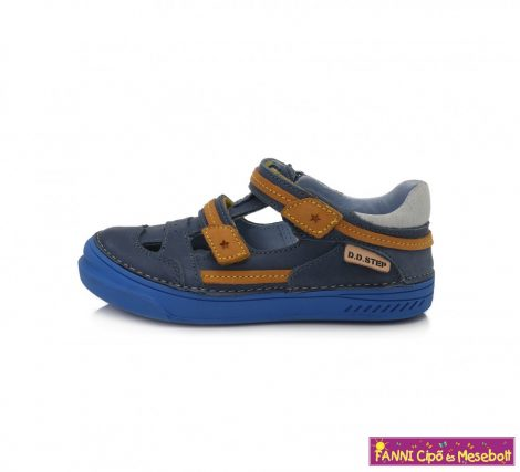 D.D. step fiú szandálcipő 31-36 kék-barna