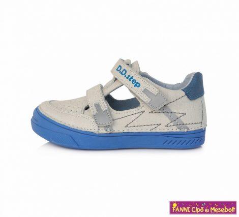 D.D.step fiú szandálcipő 25-30 fehér-kék
