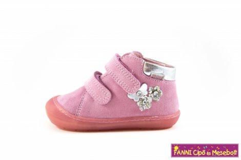 Richter lány első lépés gyerekcipő 18-26 rózsaszín-ezüst
