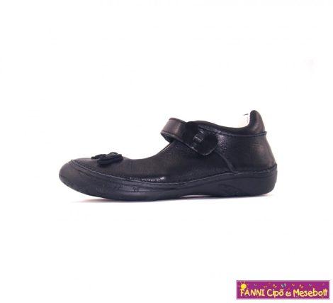 D.D. step lány szandálcipő/balerinacipő 28-33 fekete pillangós