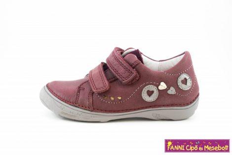 D.d. step lány gyerekcipő 25-30 Raspberry