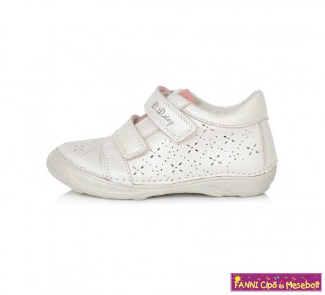 D.D. step lány gyerekcipő 25-30 fehér