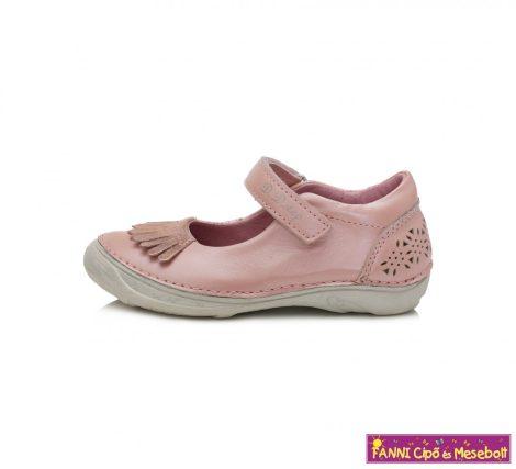 D.D. step lány szandálcipő/balerinacipő 31-36 rózsaszín-
