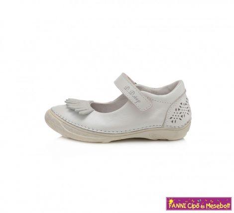 D.D. step lány szandálcipő/balerinacipő 31-36 fehér