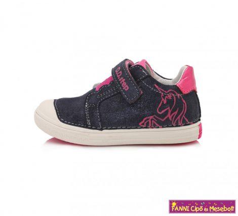 D.D. step lány gyerekcipő 31-36 sötétkék-pink