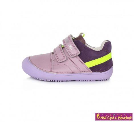 "D.D. step lány ""Barefoot"" gyerekcipő 25-30 lila-s.lila-neon"