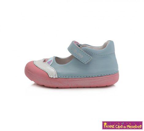 """D.D. step lány """"Barefoot"""" szandálcipő/balerinacipő 20-25 kék-rózsaszín"""