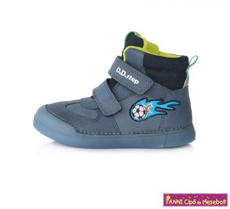 D.D. step fiú téli bélelt vízlepergető gyerekcipő 25-30 kék labdás