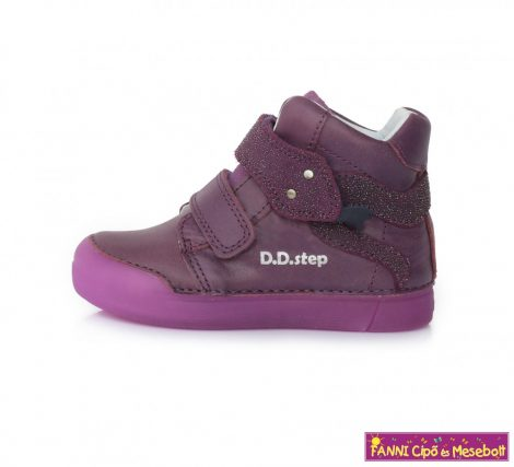 D.D. step lány gyerekcipő 25-30 lila