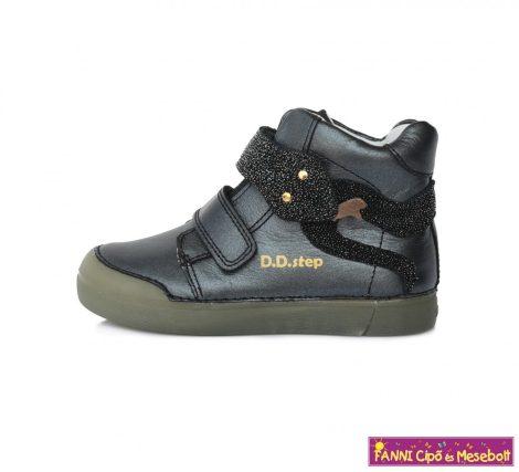 D.D. step lány gyerekcipő 25-30 fekete