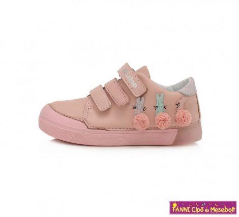 D.D. step lány gyerekcipő 25-30 Pink nyuszis